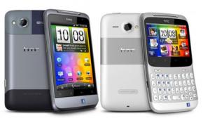 HTC Salsa et Chacha - Facebook Phone