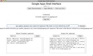 Google Apps Admin