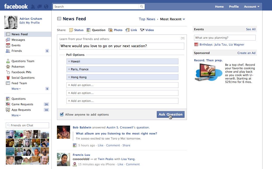 Facebook présente la nouvelle version de son système de ...