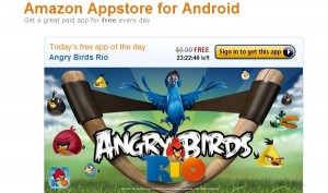 Angry Birds RIO sur l'Amazon App Store