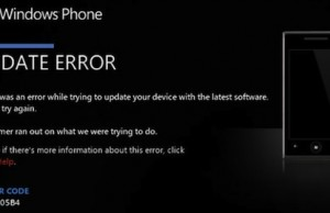erreur windows phone 7