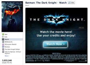 DarkNight en VOD sur Facebook
