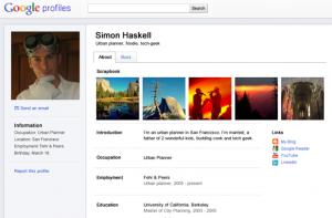 Nouveau Google Profiles
