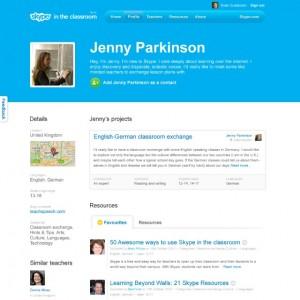 Un système de classe sur Skype