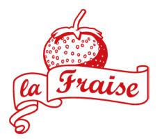 Logo La Fraise