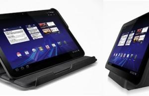 Motorola Xoom et ses accesoires