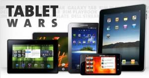 La guerre des tablettes tactiles commence enfin !!!