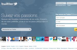 Twitter propose une nouvelle page d'accueil