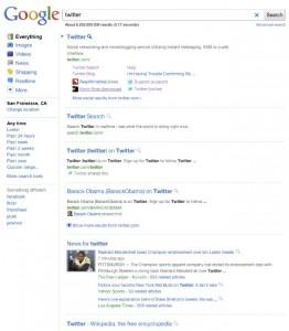 Google Search, nouvel affichage