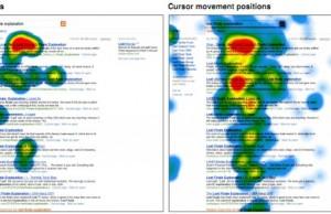 Recherche microsoft traque curseur pour analyser le web