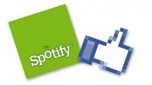 Spotify et Facebook