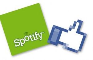 Spotify et Facebook