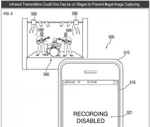 Brevet Apple pour bloquer l'appareil photo