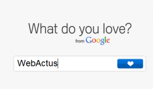 Google - What do you love?
