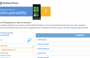 Convertisseur applications android en Windows Phone 7