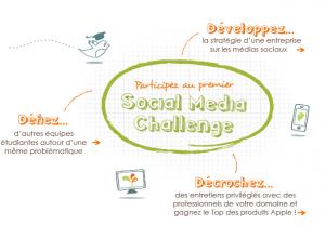 Le social media challenge par Viadeo