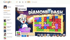 Les jeux sociaux débarquent sur Google Plus