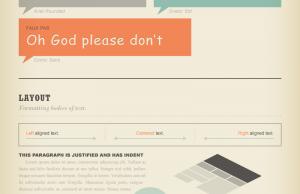 Guide sur les typographies