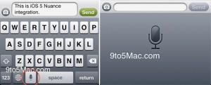 Nuance reconnaissance iOS