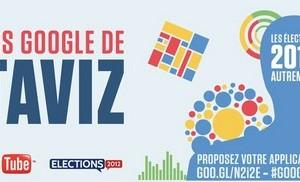 Concours Google pour les élections présidentielles 2012