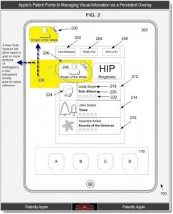 Brevet Apple écran intelligent