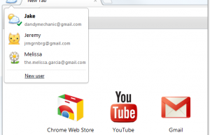 Google Chrome Synchronisation multiple profils