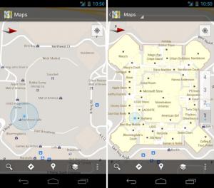 google maps interieur