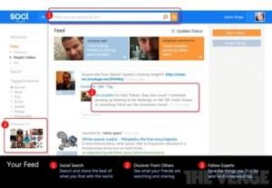Socl réseau social Microsoft