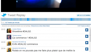 TF1 Tweet Replay