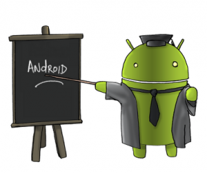 Programme d'apprentissage Android