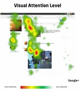 eyetracking Google Plus