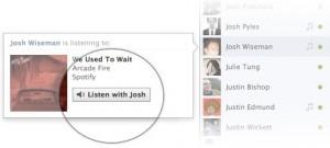 Facebook musique avec
