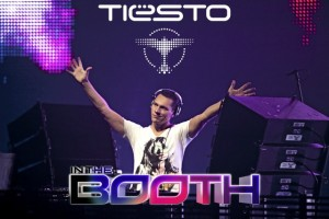 Tiesto in the booth