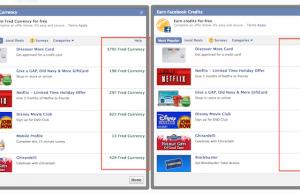 Créer votre monnaie virtuelle personnalisée avec Facebook Crédits