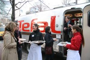 Quand Tefal distribue des crêpes gratuitement pour la CHANDELEUR