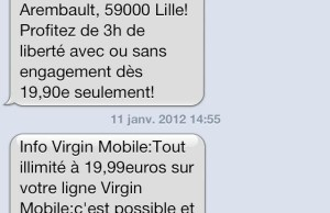 Forfait concurrence Free Mobile chez Virgin Mobile