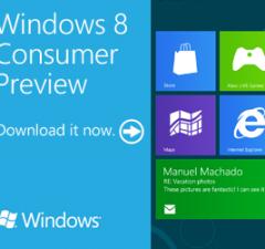 Windows 8 Consumer Preview est disponible gratuitement
