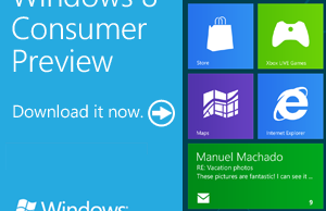 Windows 8 Consumer Preview est disponible gratuitement