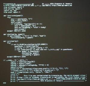 Un mystérieux virus informatique programmé dans un langage ...