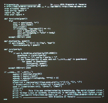 How to write a coding for virus
