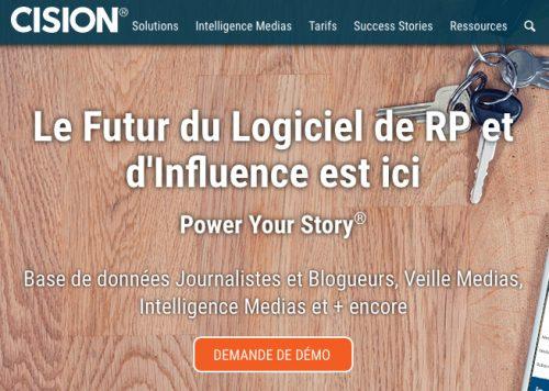 Cision : relations presse et promotion de contenu