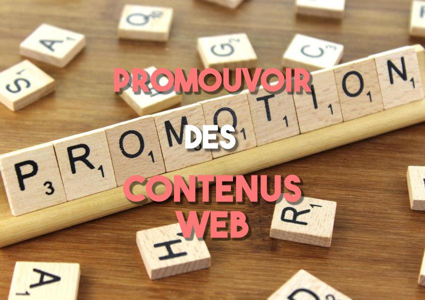 Outils pour promouvoir ses contenus web