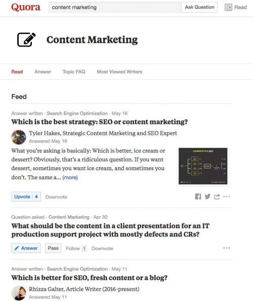 Trouver un sujet d'article de blog