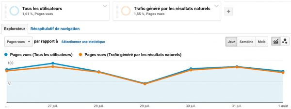 traffic seo google analytics
