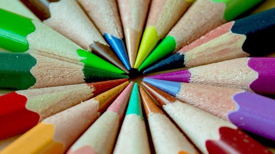 Soigneur les couleurs pour réussir une typographie