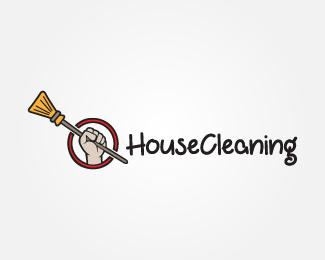 logo de société de nettoyage