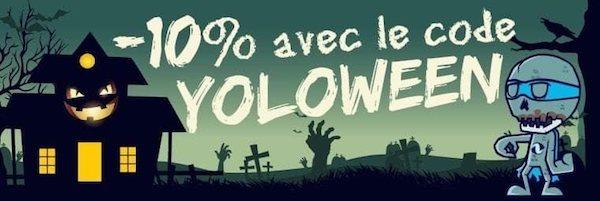 Promotion pour halloween