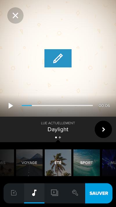 Montage vidéo gratuit smartphone