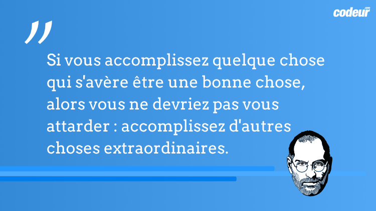 citation de steve jobs