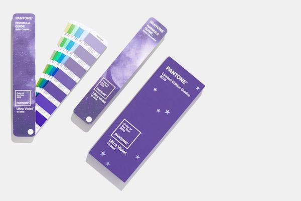 palette de couleurs pantone